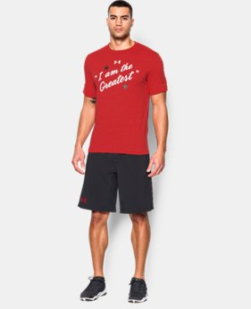 Men's UA x Muhammad Ali I Am The Greatest T-Shirt  1 Color $34.99