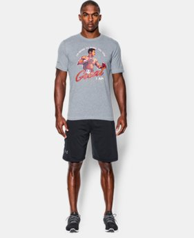Men's UA x Muhammad Ali How Great I Am T-Shirt LIMITED TIME: FREE SHIPPING  $34.99