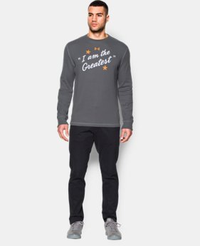 Men's UA x Muhammad Ali Greatest Waffle Crew LIMITED TIME: FREE SHIPPING 1 Color $35.99