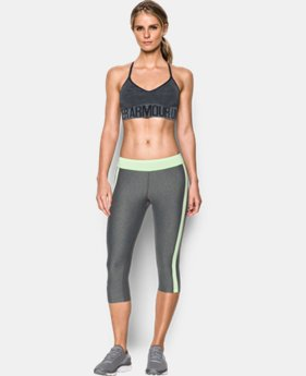 Women's UA Seamless Feeder Stripe Bra   $34.99
