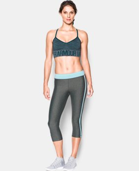 New Arrival  Women's Armour® Seamless Feeder Stripe Bra  2 Colors $29.99 to $39.99