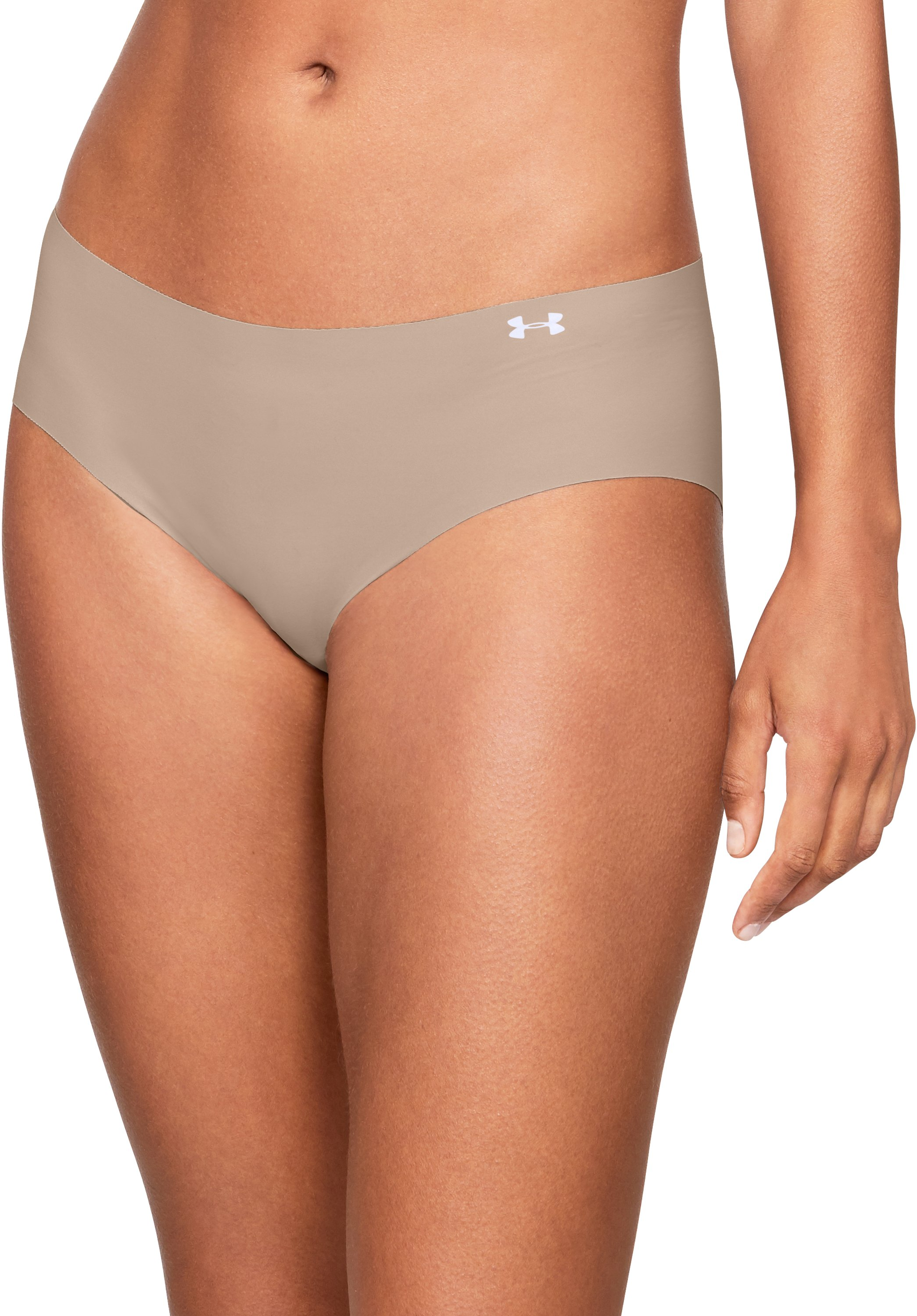 Women's UA Pure Stretch Hipster, Nude,