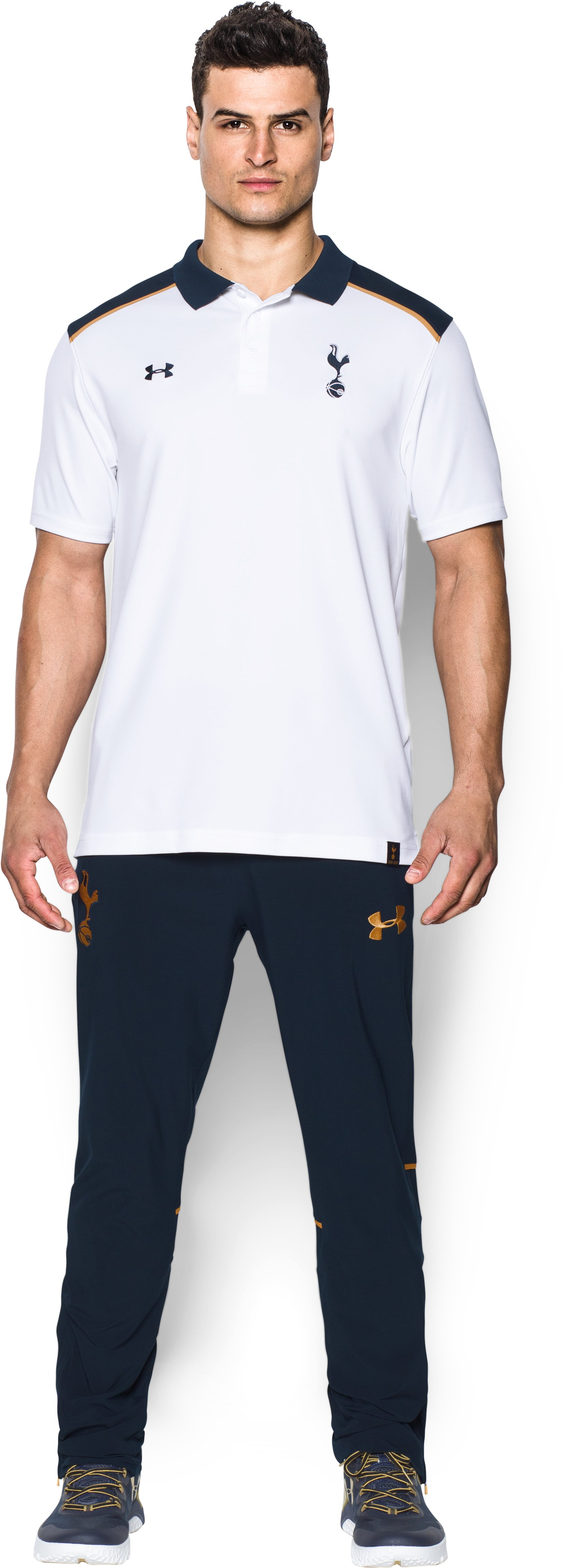 Men's Tottenham Hotspur 16/17 Team Polo, White