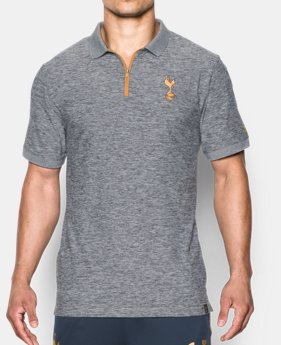 Men 39 s compression short sleeve shirts under armour us for Tottenham under armour polo shirt