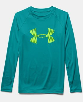 Boys' UA Slasher Long Sleeve Surf T-Shirt