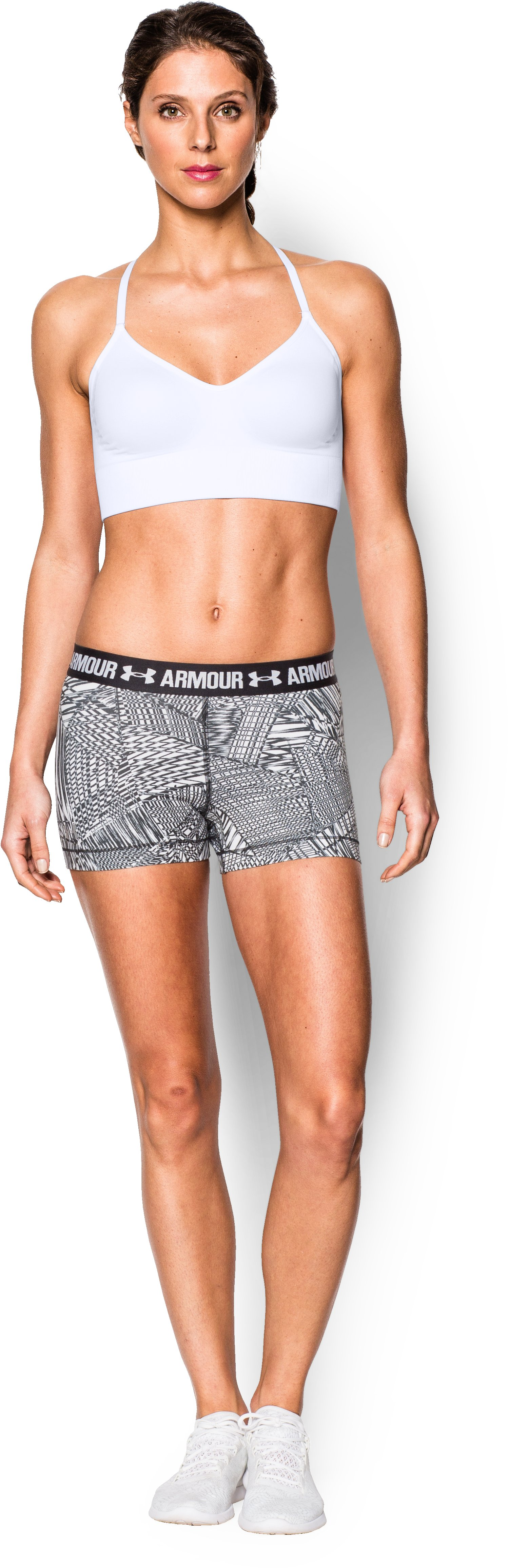Women's Armour® Seamless , White, zoomed image