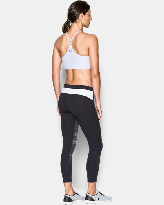 Women's Armour® Seamless Sports Bra, White, pdpMainDesktop image number 1