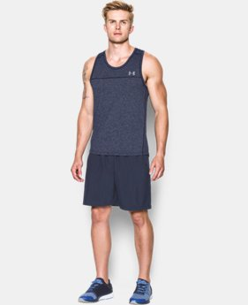 Men's UA Run Seamless Singlet LIMITED TIME: FREE SHIPPING 2 Colors $59.99