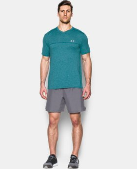 Men's UA Run Seamless V-Neck T-Shirt  1 Color $35