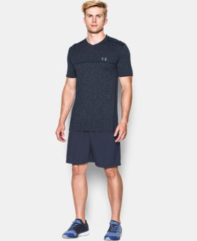 Men's UA Run Seamless V-Neck T-Shirt LIMITED TIME: FREE U.S. SHIPPING 1 Color $52.99