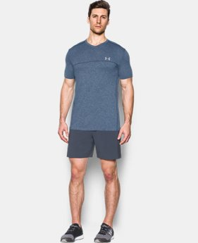 Men's UA Run Seamless V-Neck T-Shirt  1 Color $29.24 to $39.74
