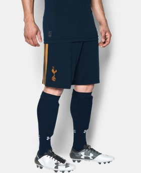 Men's Tottenham Hotspur 16/17 Home/Away Replica Shorts   $45