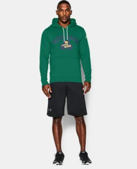 Men's Notre Dame UA Iconic Fleece Hoodie  1 Color $50.99