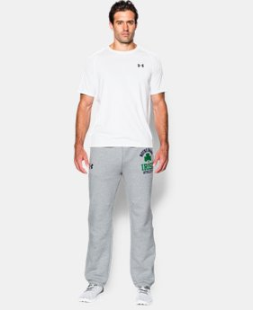 Men's Notre Dame UA Iconic Fleece Pants  1 Color $56.99