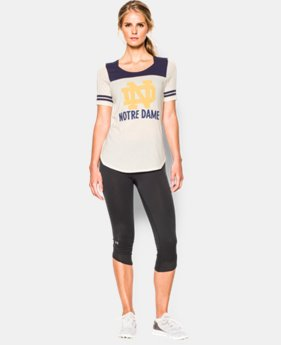 Women's 2015 Notre Dame Iconic 6 Jersey T-Shirt  1 Color $49.99
