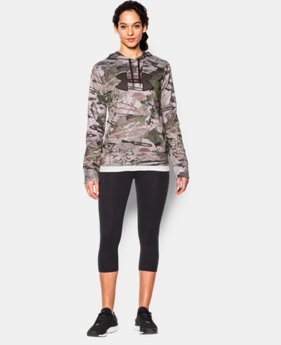 Women's UA Armour® Fleece Camo Big Logo Hoodie LIMITED TIME: FREE SHIPPING 1 Color $84.99