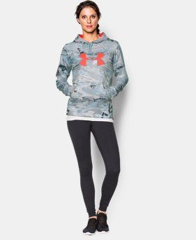 Women's UA Armour® Fleece Camo Big Logo Hoodie  4 Colors $56.99