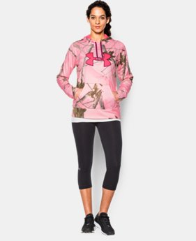 Women's UA Armour® Fleece Camo Big Logo Hoodie   $63.99