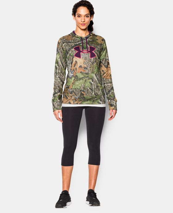 New to Outlet Women's UA Armour® Fleece Camo Big Logo Hoodie LIMITED TIME: FREE U.S. SHIPPING 1 Color $33.74 to $44.99