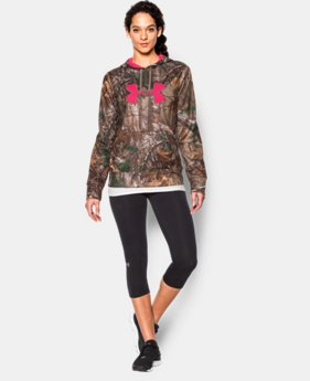 Women's UA Armour® Fleece Camo Big Logo Hoodie