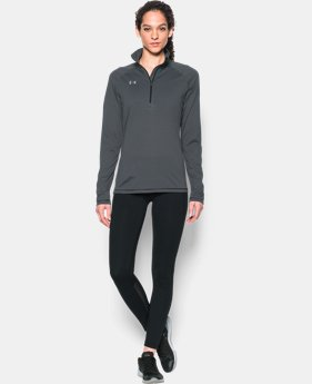 Women's UA Tech™ Microstripe ¼ Zip  1  Color Available $44.99