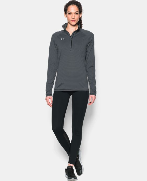 Women's UA Tech™ Microstripe ¼ Zip  1 Color $49.99