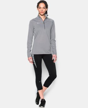 Women's UA Tech™ Microstripe ¼ Zip LIMITED TIME: FREE SHIPPING 1 Color $49.99