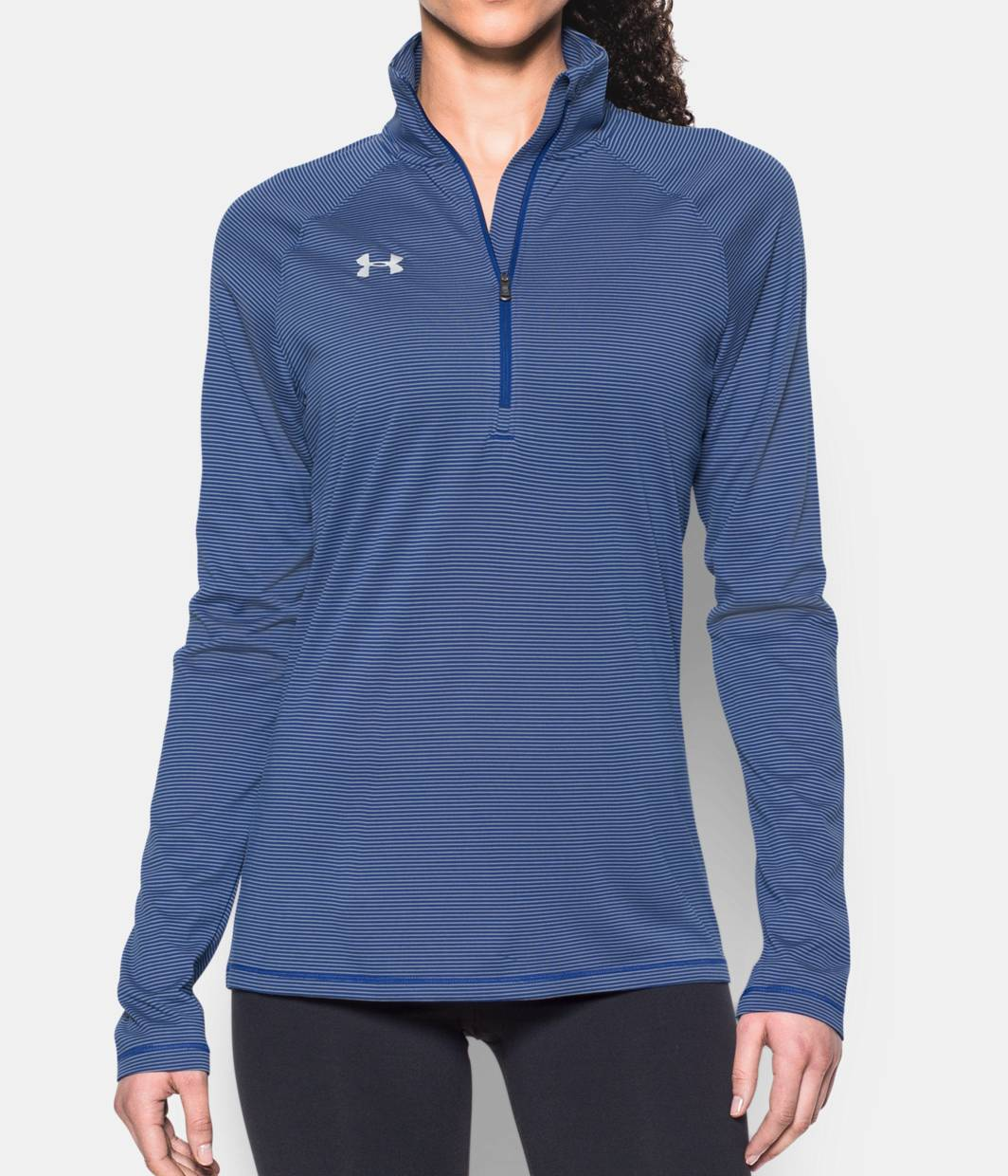 Women 39 S Ua Tech Microstripe 1 4 Zip Under Armour Us