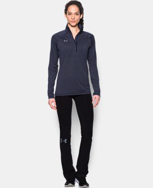 New Arrival  Women's UA Tech™ Microstripe 1/4 Zip LIMITED TIME: FREE SHIPPING 1 Color $49.99