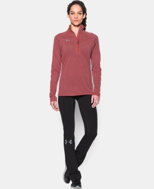 Women's UA Tech™ Microstripe 1/4 Zip LIMITED TIME: FREE U.S. SHIPPING 1 Color $44.99
