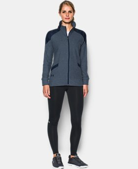 Women's UA Fleece Full Zip Hoodie  1 Color $79.99