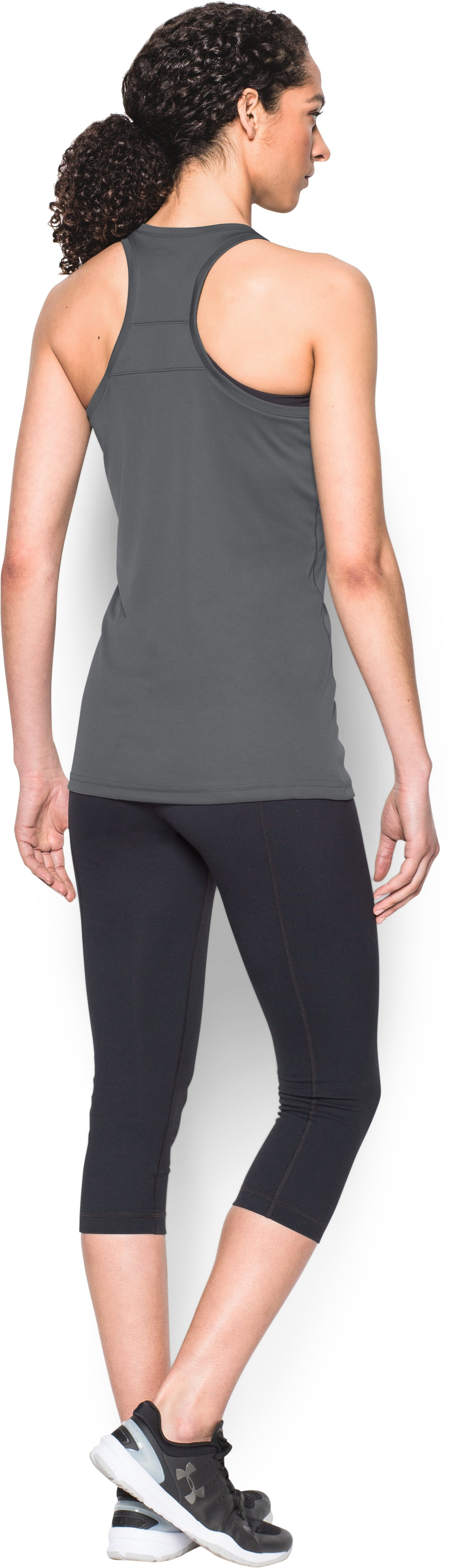 Women's UA Matchup Tank, Graphite, Back