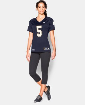 Women's 2015 Notre Dame Replica Jersey - Home  LIMITED TIME: FREE U.S. SHIPPING 1 Color $44.99
