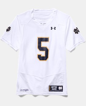 Boys' Notre Dame Replica Away Jersey