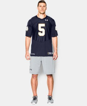 Men's Notre Dame 2015 Home Premier Jersey  1 Color $42.18