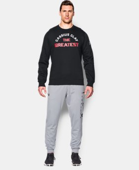 Men's UA x Muhammad Ali I Am The Greatest Crew  1 Color $33.74