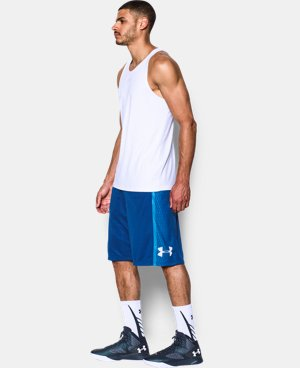 Men's UA Mach Speed Basketball Shorts LIMITED TIME: FREE U.S. SHIPPING 1 Color $20.24
