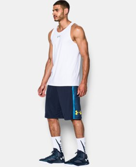Men's UA Mach Speed Basketball Shorts LIMITED TIME: FREE SHIPPING 4 Colors $34.99