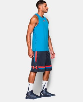New to Outlet Men's UA Select Fighter Basketball Shorts  1 Color $26.99