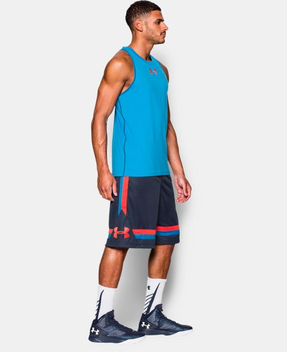 New to Outlet Men's UA Select Fighter Basketball Shorts  1 Color $20.24