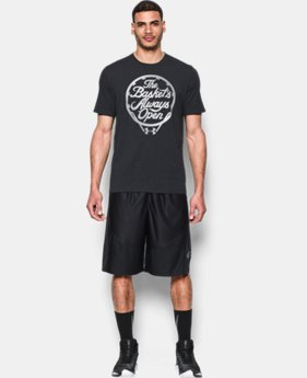 Men's UA Basket's Always Open T-Shirt LIMITED TIME: FREE SHIPPING 1 Color $24.99