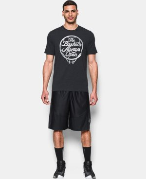 Men's UA Basket's Always Open T-Shirt LIMITED TIME: FREE U.S. SHIPPING 1 Color $14.24