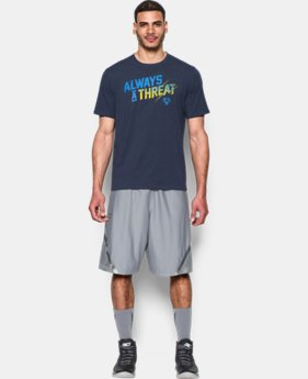 Men's UA Always A Threat T-Shirt LIMITED TIME: FREE SHIPPING  $24.99