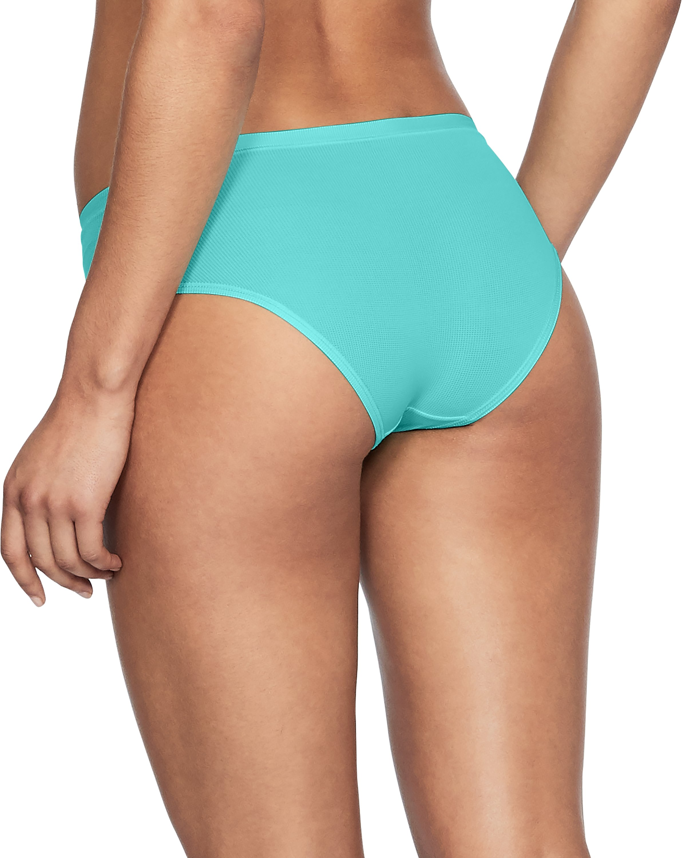 Women's UA Pure Stretch Sheer Hipster, TROPICAL TIDE,