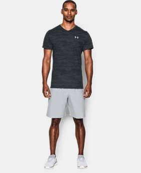 New Arrival Men's UA Streaker Run V-Neck T-Shirt  1 Color $34.99