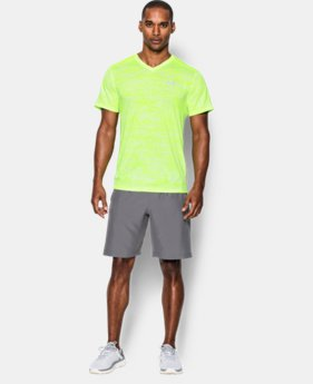 Men's UA Streaker Run V-Neck T-Shirt  1 Color $26.99