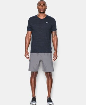 Men's UA Streaker Run V-Neck T-Shirt   $29.99