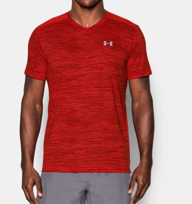 51986e1526be90 Men s Threadborne™ Streaker Run V-Neck T-Shirt