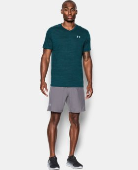 New Arrival Men's UA Streaker Run V-Neck T-Shirt LIMITED TIME: FREE U.S. SHIPPING 1 Color $34.99