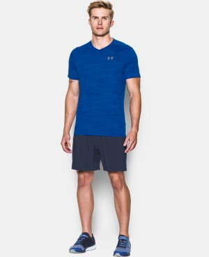 New Arrival Men's UA Streaker Run V-Neck T-Shirt  1 Color $39.99